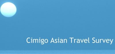 Cimigo conducts Pan-Asian travel Survey