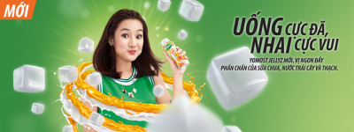 Injecting more fun into drinking yoghurt, Vietnam Asia