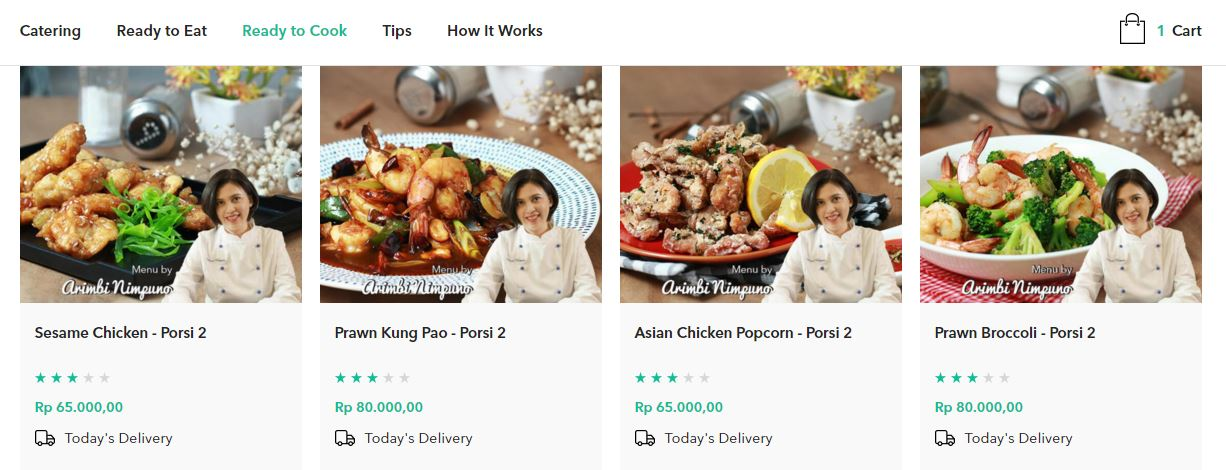 Online grocery retail convenience, Indonesia Asia