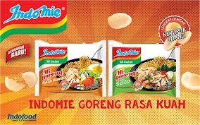 Snacking on instant noodles Indonesia