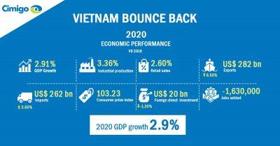 Stellar Vietnam economic performance in 2020